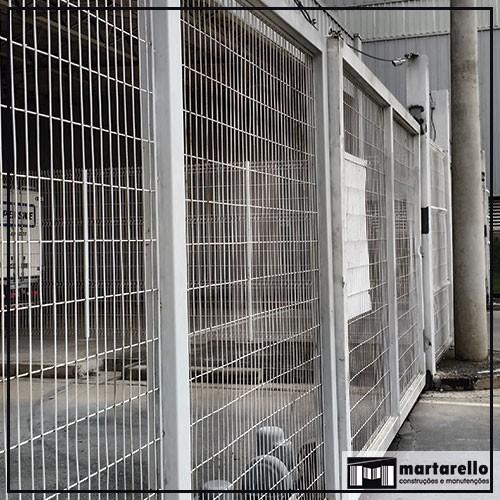 Automação de portões industriais