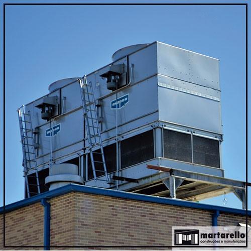 Manutenção ar condicionado industrial